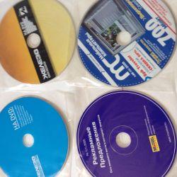 PC discs, music