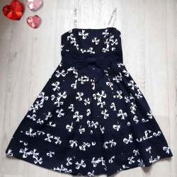 Cotton elegant dress 128-134