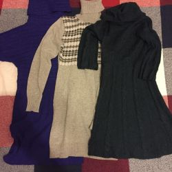 A package of warm clothes with