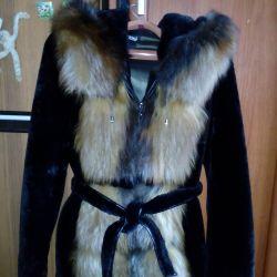 Fur coat (natural muton)