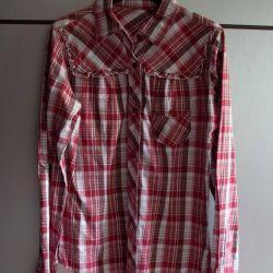Рубашка в клетку бренд Америка