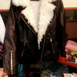 Jacket jackets warm genuine leather
