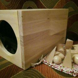 Montessori Tactile module.