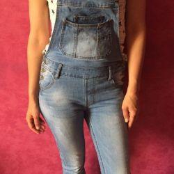 Jumpsuit jeans.