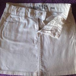 Юбка джинсовая Gap для девочки 8 лет