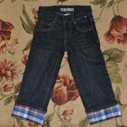 New jeans Gymboree on the growth of 83-86cm (2T)