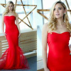 Rochie roșie de absolvire