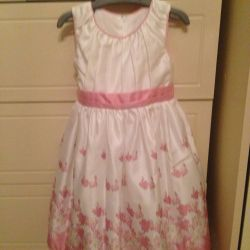 dress children's, elegant. р.90cm