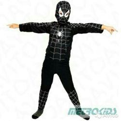 Carnival costume black Spiderman
