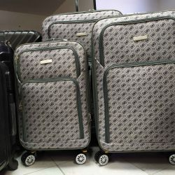Suitcases on wheels. Cascade 239