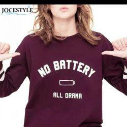 Stylish wine-colored sweatshirt, p.42-48.