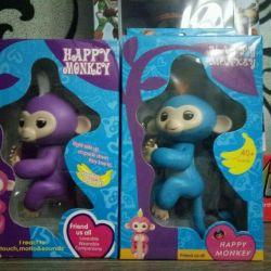 Interactive monkey Happy Manka