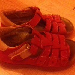 Cotton sandals