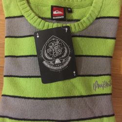 New wool sweater
