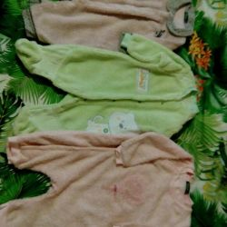 Overalls. Soft. Terry. Size 6-12 months