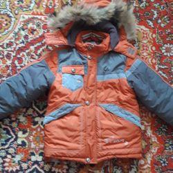 Μπουφάν για ένα αγόρι το χειμώνα