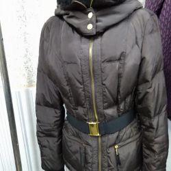 Women's down jacket zara