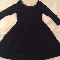 Guipure rochie