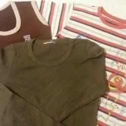 T-shirts 3pcs.