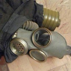 SSCB gaz maskesi