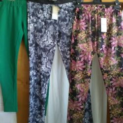 Leggings are new 48-50 / L. TROUSERS