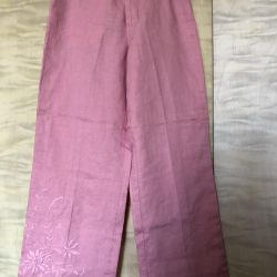 Pants Women's Flax new 44 size height 160