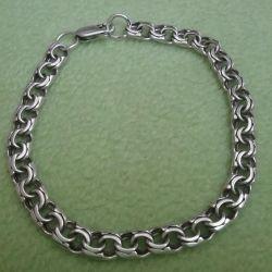 Браслет серебро 925 прбы