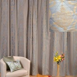 Set of curtains Ester gray-blue 200 * 270