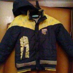 Утеплeнная куртка на хлопчика осінь - весна - зима