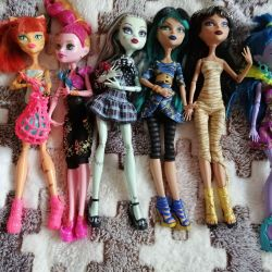Chic dolls monster high. Original.