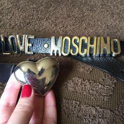 Curea din piele Love Moschino