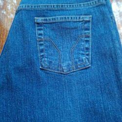 Düşük Rise Flare Jeans