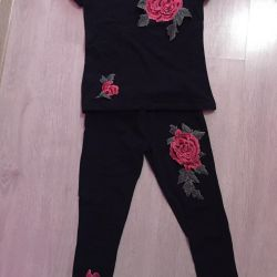 T-shirt + tights set