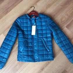 New demi-season insulated jacket