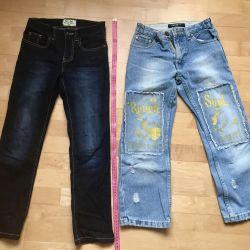Jeans pentru copii 9-10 ani