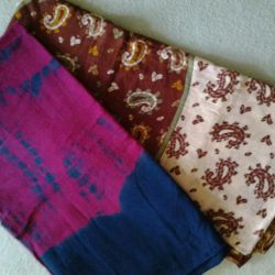Scarves stoles, two for 200 rubles