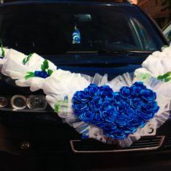 Ribbon for wedding cars