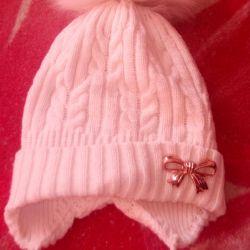Pălăria de iarnă pentru copii