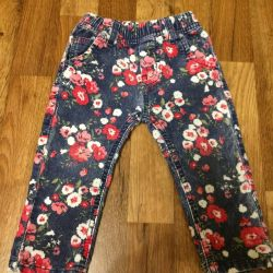 Corduroy trousers SWEET BERRY BABY