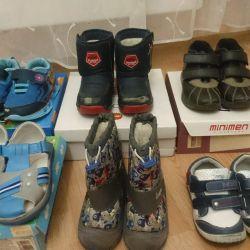 Παιδικά παπούτσια (μπότες, σανδάλια, αθλητικά παπούτσια)