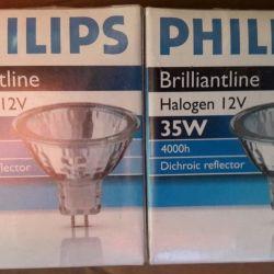 Lampă halogen Philips Brilliantline 35W GU5.3