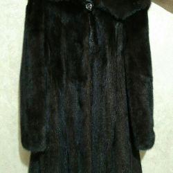 42 size brown coat