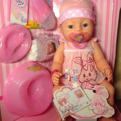 Baby Born doll analog new