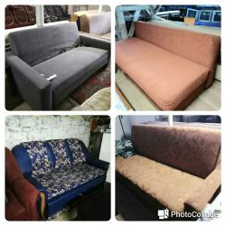 Many sofas bu