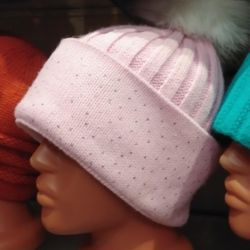 Large selection of youth hats.