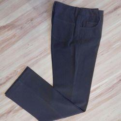 Pantolon Yün astarları haki renk