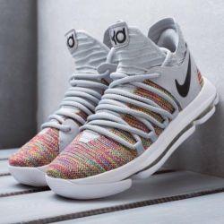 Кроссовки Nike KD 10 Multi-color