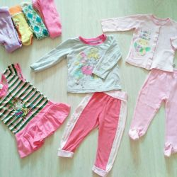 Clothes for a year for a house for a girl