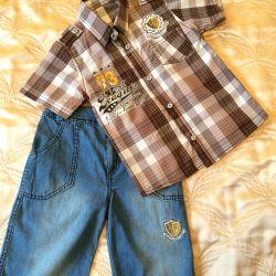 Pantolon + gömlek
