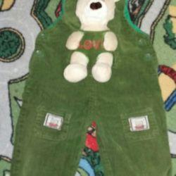 Semi-overalls for children